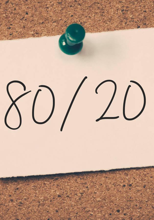 O Princípio 80/20 Resumo