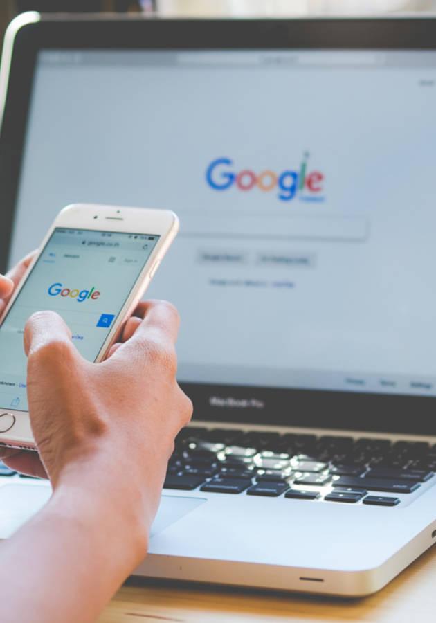 Google a Biografia Resumo