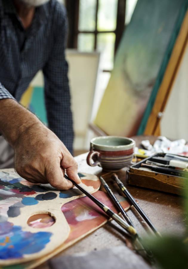 O caminho do artista Resumo